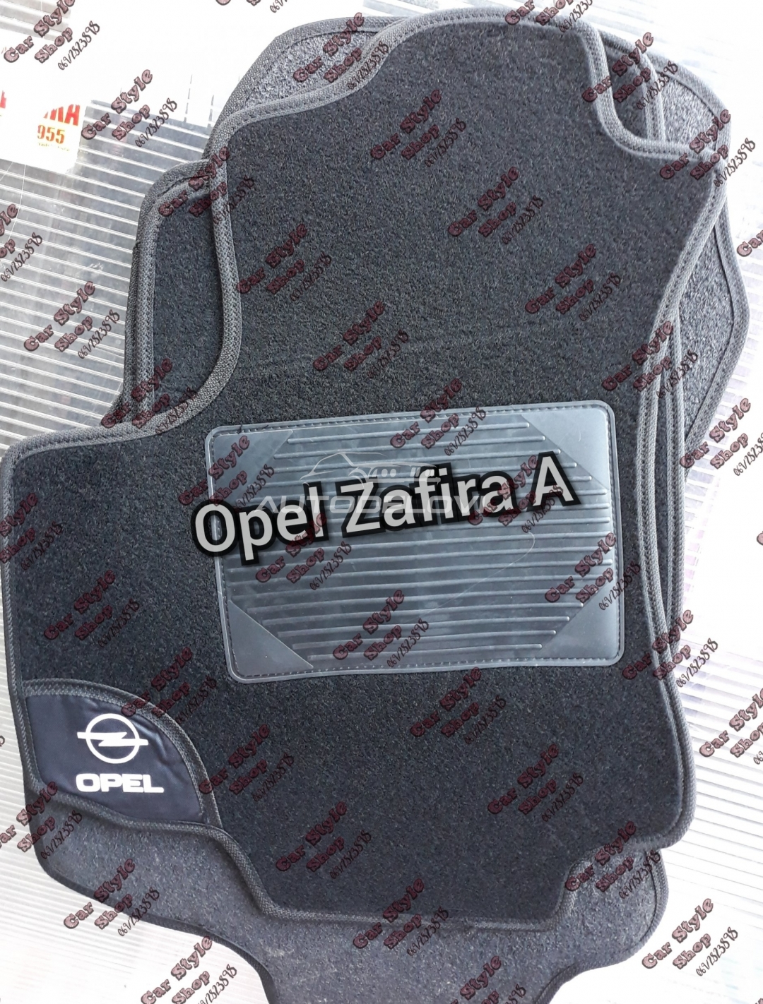 Patosnive TIPSKE tepih za Opel Zafira A