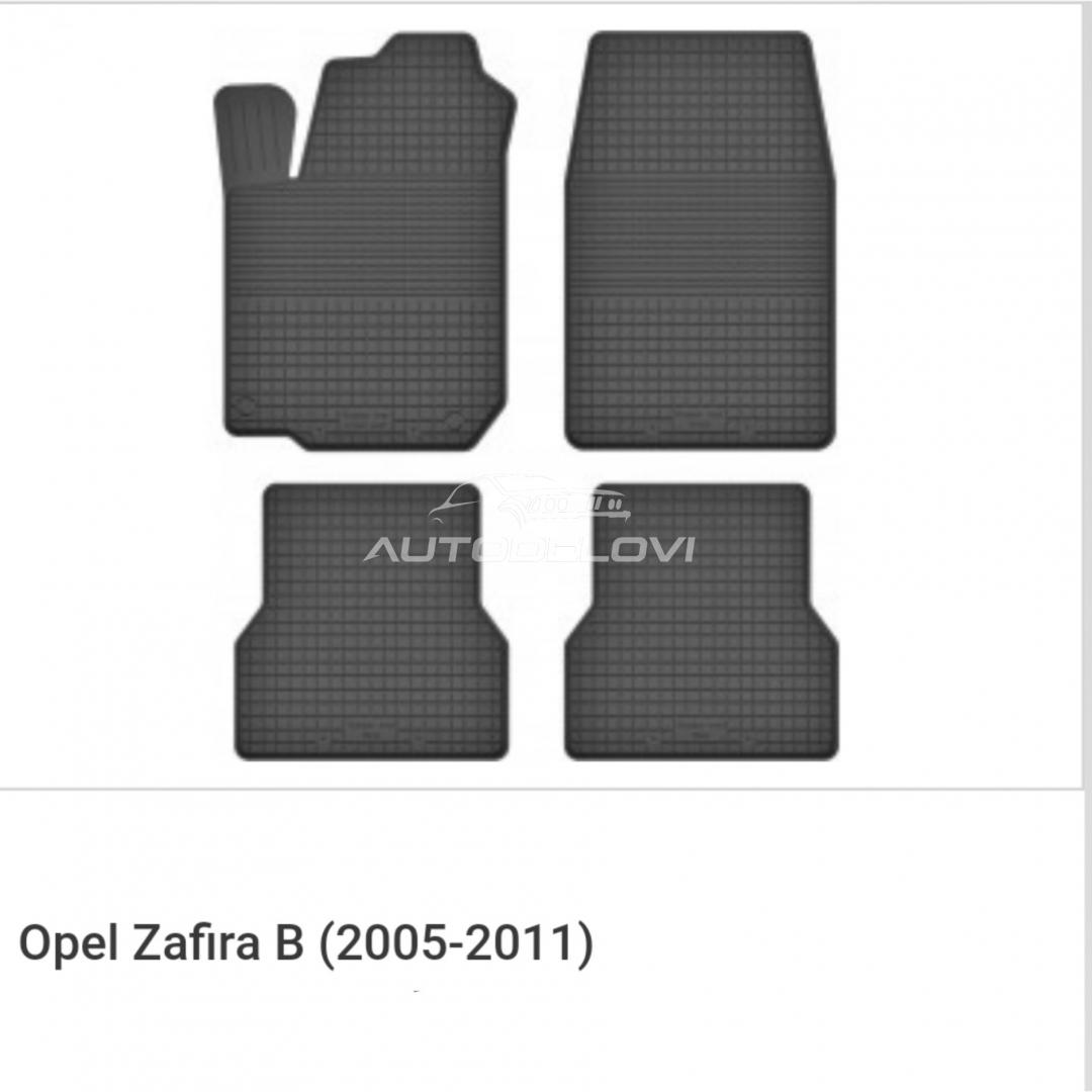 Patosnice gumene za Opel Zafira B