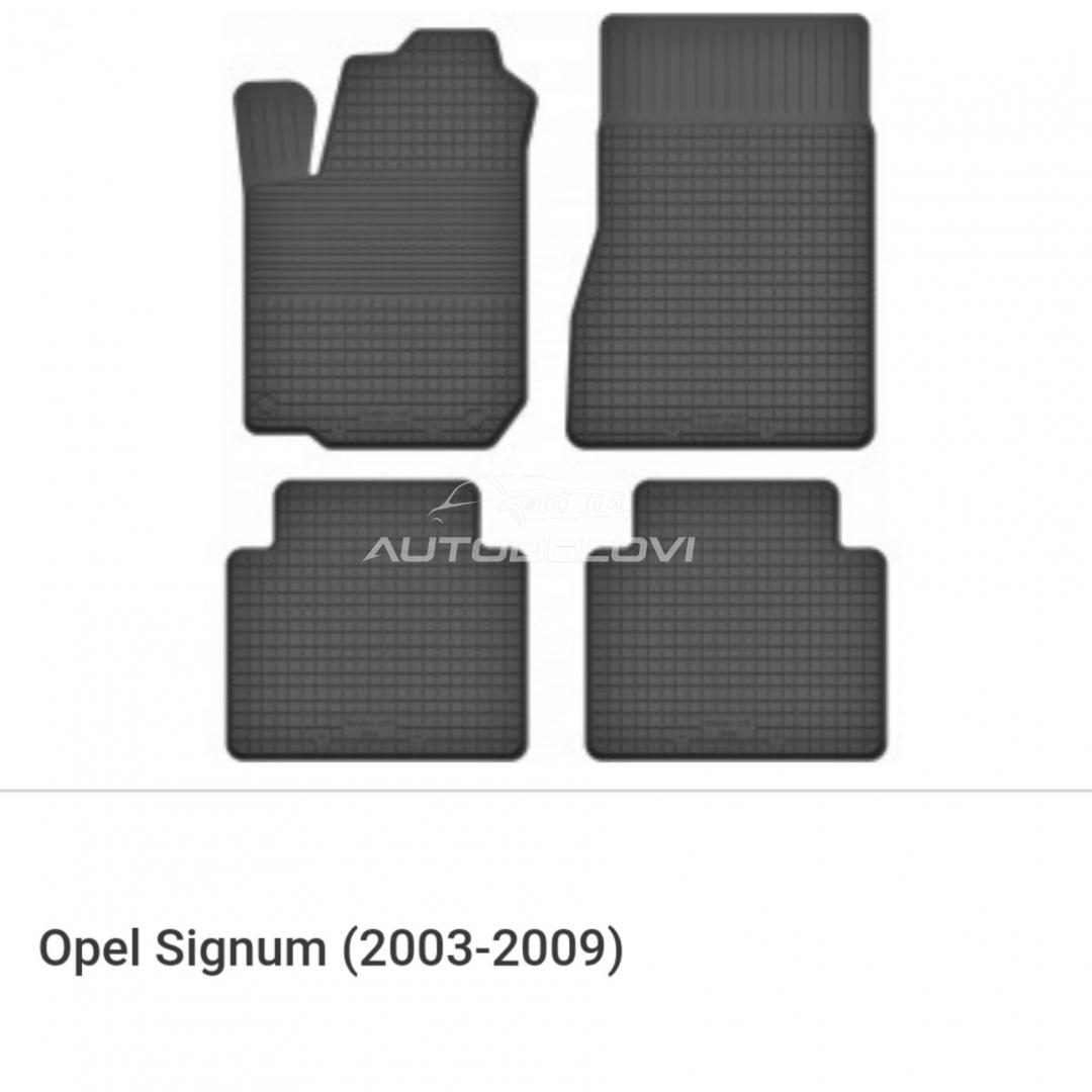 Patosnice gumene za Opel Signum