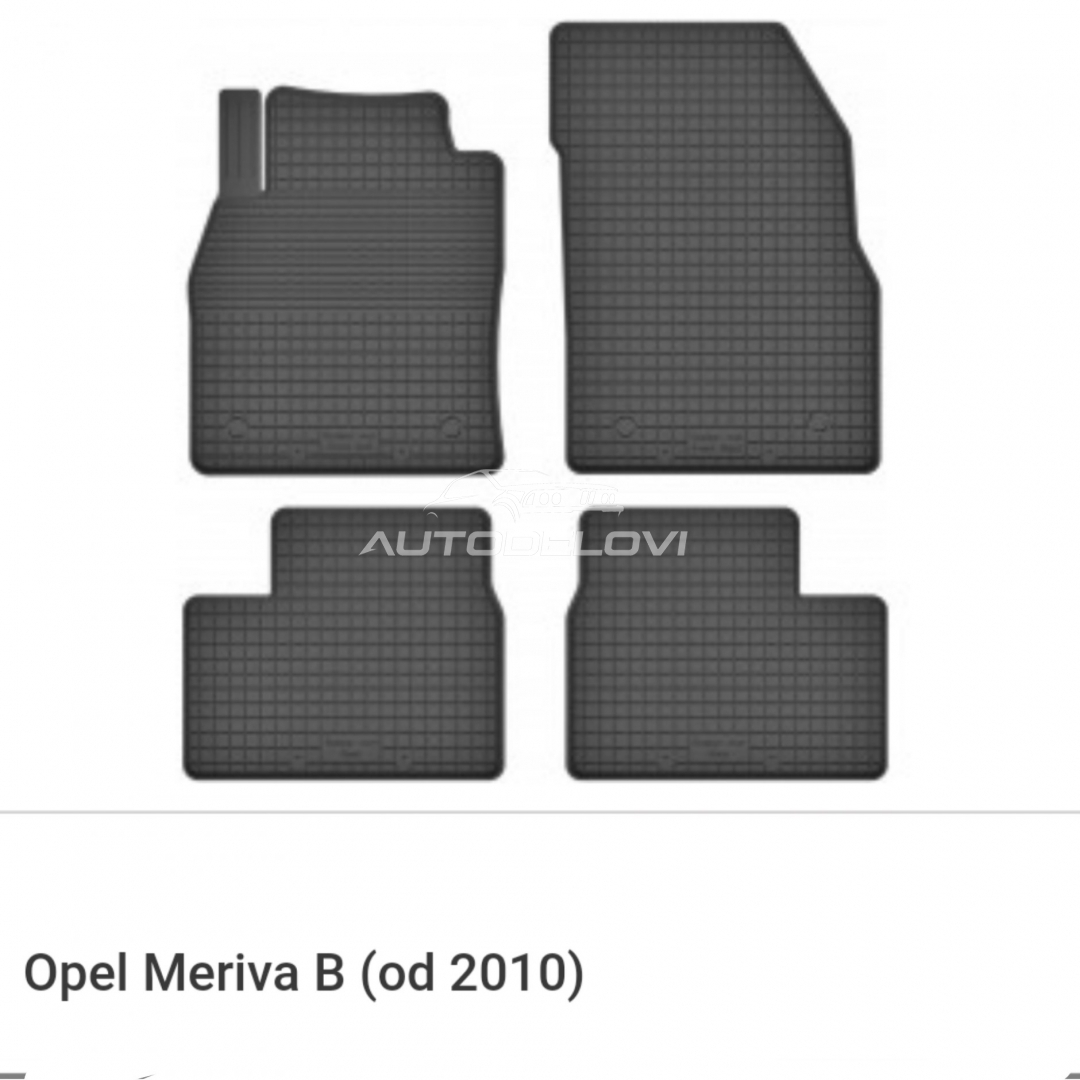 Patosnice gumene za Opel Meriva B