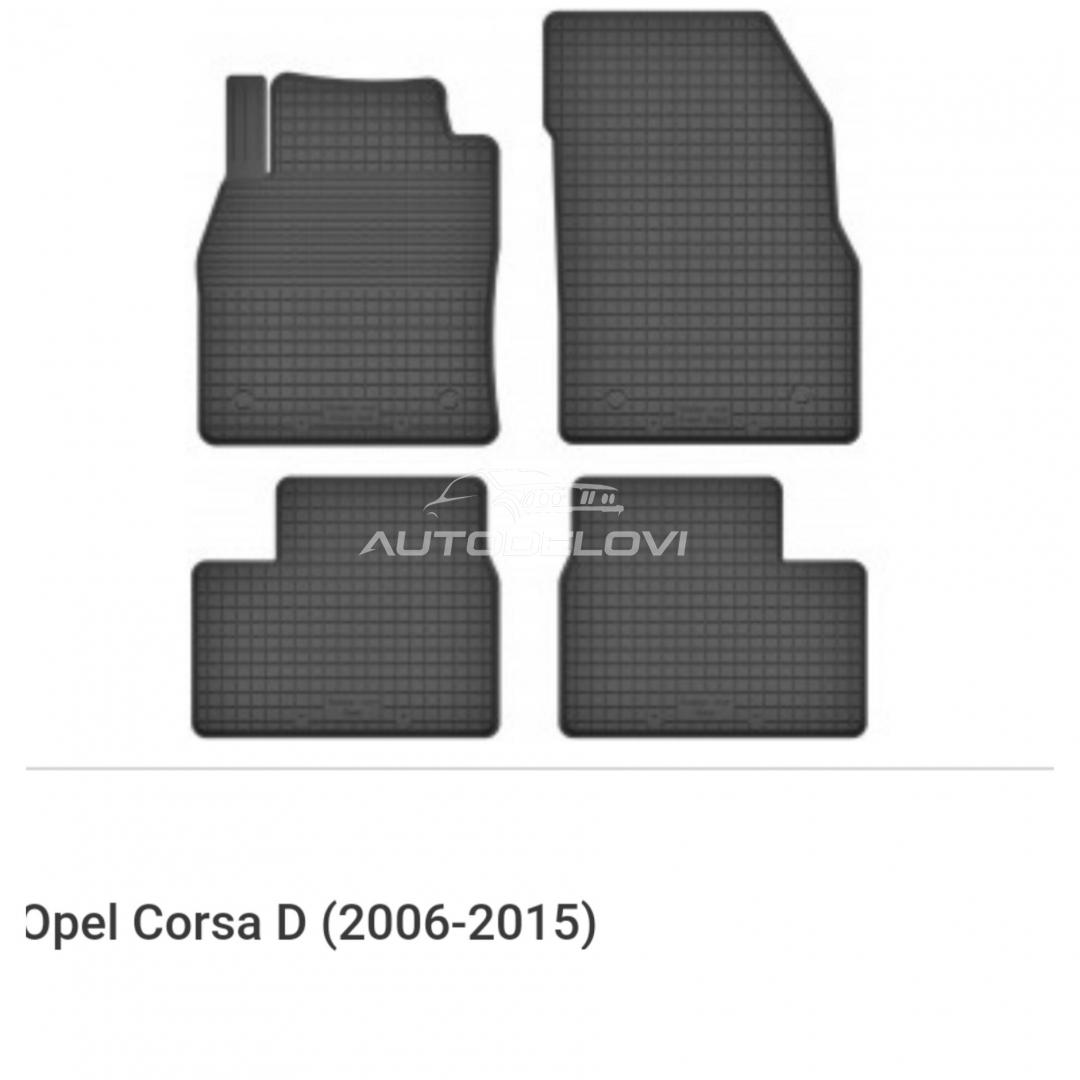 Patosnice gumene za Opel Corsa D