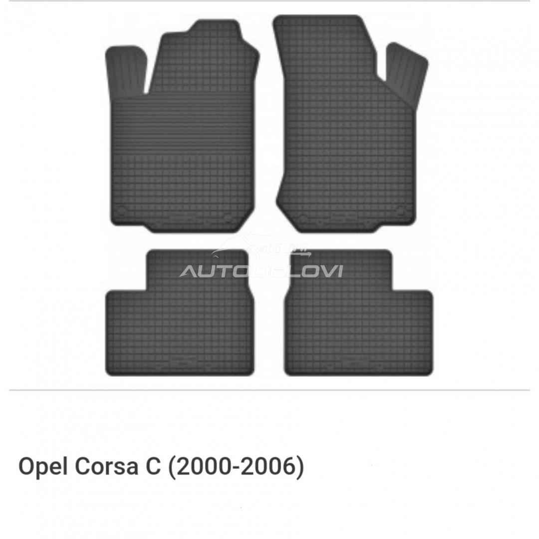 Patosnice gumene za Opel Corsa C