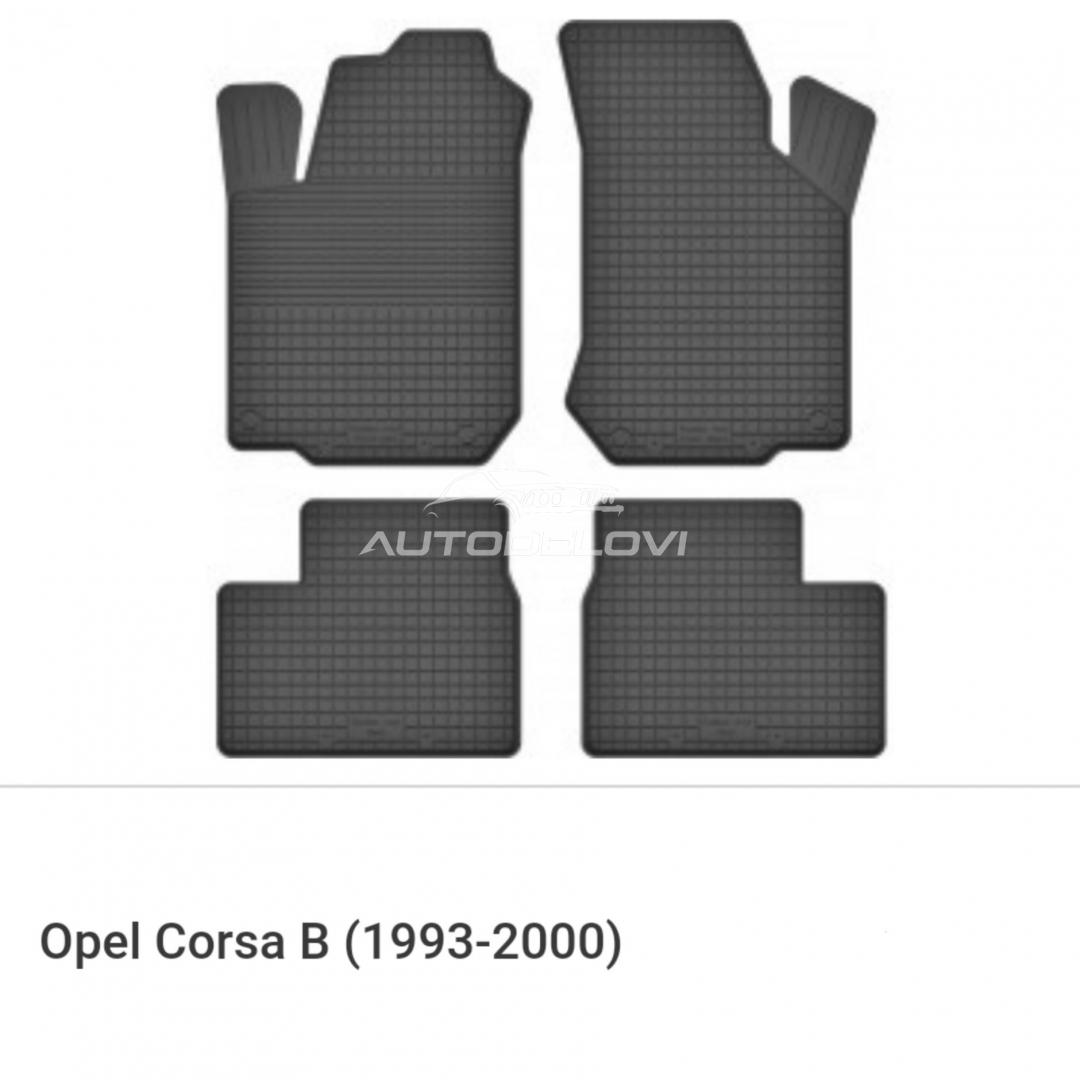 Patosnice gumene za Opel Corsa B