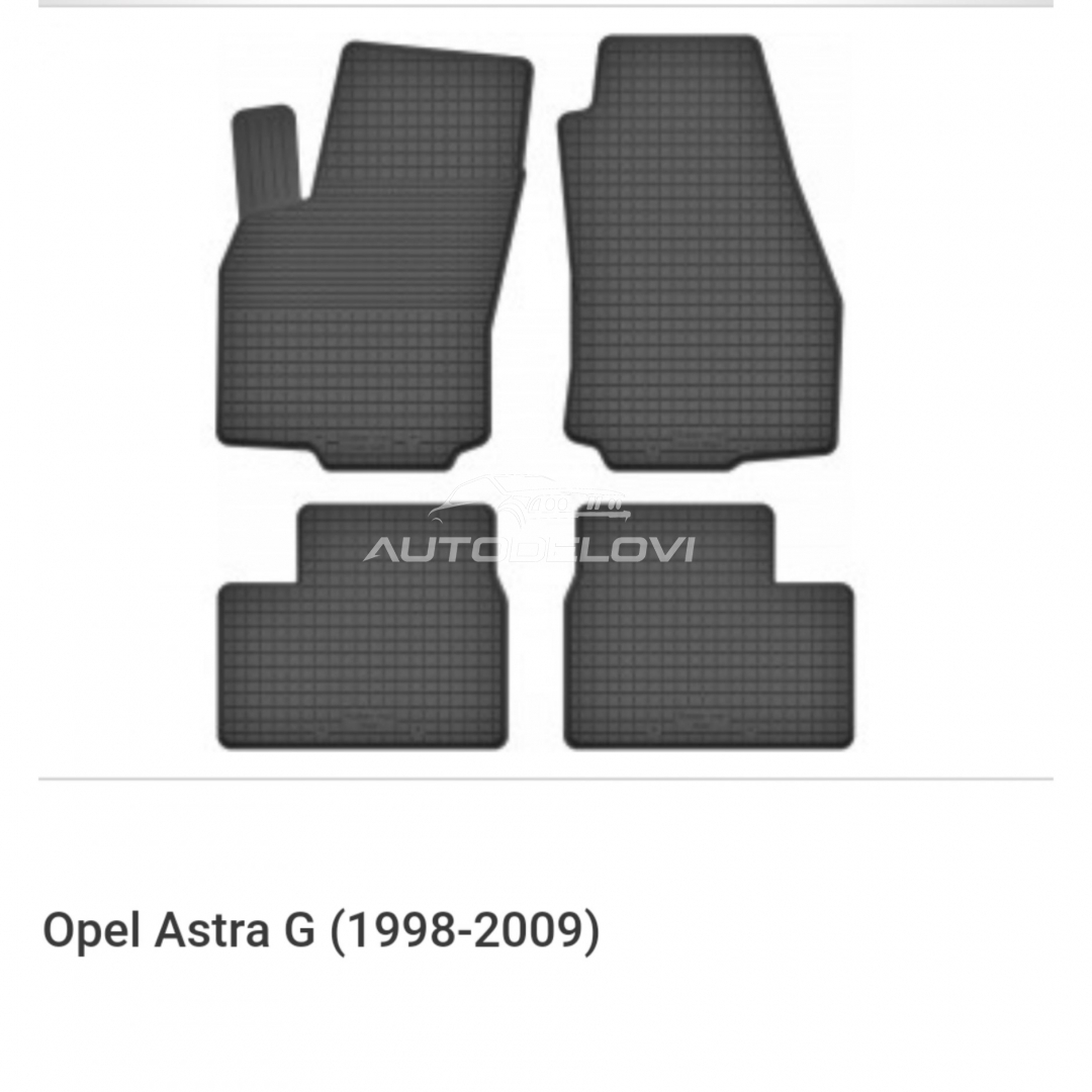 Patosnice gumene za Opel Astra G