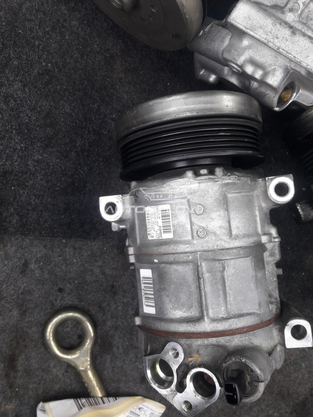 Alfa Romeo Mito 1.4 kompresor klime sa test vozila