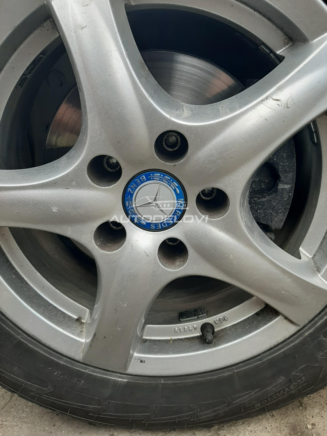 Čepovi za felne Mercedes