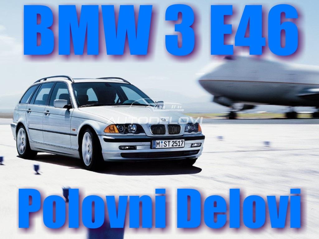BMW SERIJE 3 MODEL E46 POLOVNI DELOVI