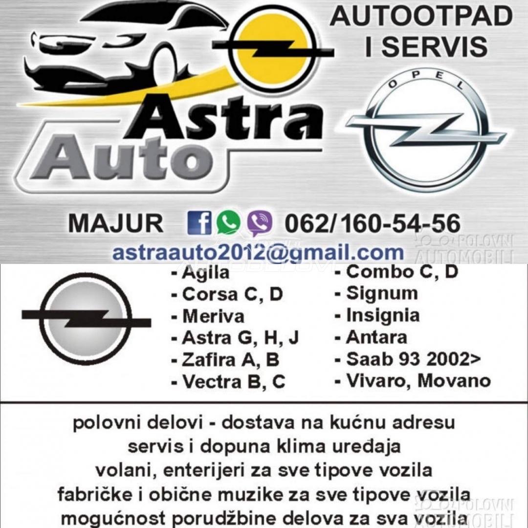 Astra J Sedan zadnja šina branika