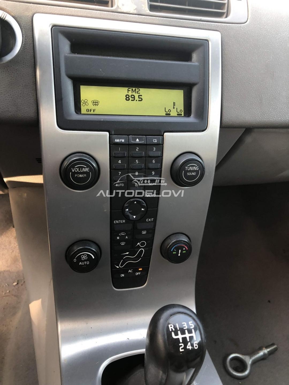Volvo S40 i V50 Komande ventilacije i radija